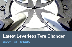Latest Leverless Tyre Changer