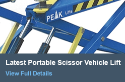 Latest Portable Scissor Vechile Lift