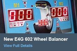New E4G 602 Wheel Balancer