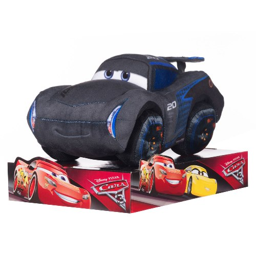 Disney pixar cars 3 jackson storm 10 inch plush soft toy for Three jackson toy