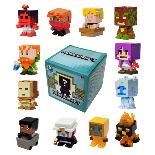 Minecraft Toys And Mini Figures For Kids : Minecraft biome settlers series mini figures choose