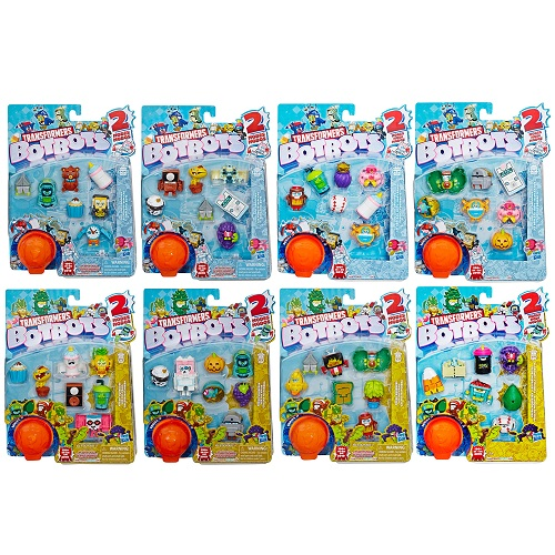 Transformers BotBots Series 3 Collectible 8 Figure Pack *CHOOSE YOUR PACK*