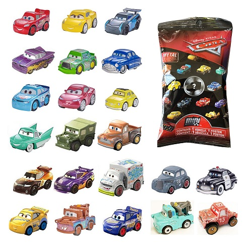 Disney Pixar Cars Mini Racers Blind Bag Brand New Pick Your Own