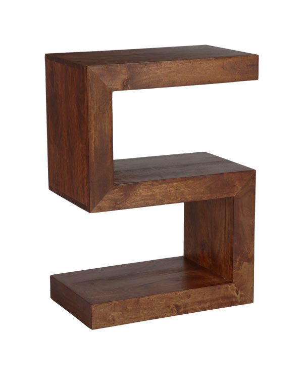 Dark Dakota Solid Mango Furniture Side Table 07n Ebay