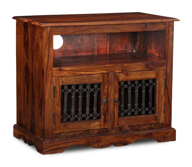 Living Room Furniture Sheesham Jali Tv Unit J39