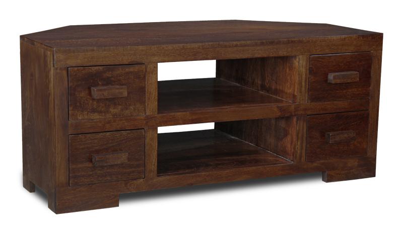Manhattan Furniture Solid Mango Corner Tv Unit H13d